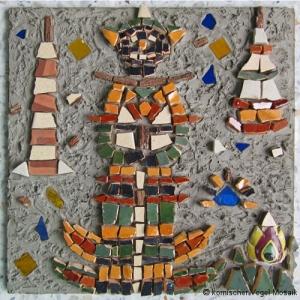 Tempelwächter – 30×30 cm