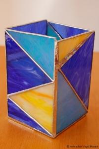 blaue Dreiecke