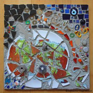 """Mosaik """"Splitter der Welt"""""""