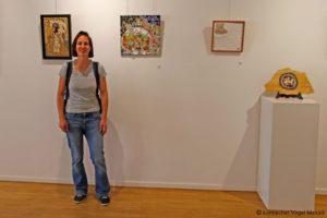 """Das Mosaik in der Ausstellung """"Fragment"""""""